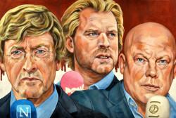 Frits Wester, Ferry Mingelen en Rutger Castricum