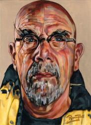 Chuck Close, 40x30, acryl op linnen, 2014