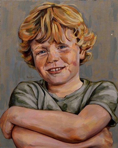 Workshop Portretschilderen In Den Haag Scheveningen