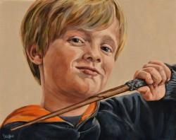 portretschilderij Lode 40x50 cm