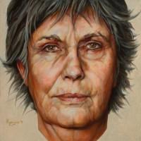 Portret van Nanette in 2011