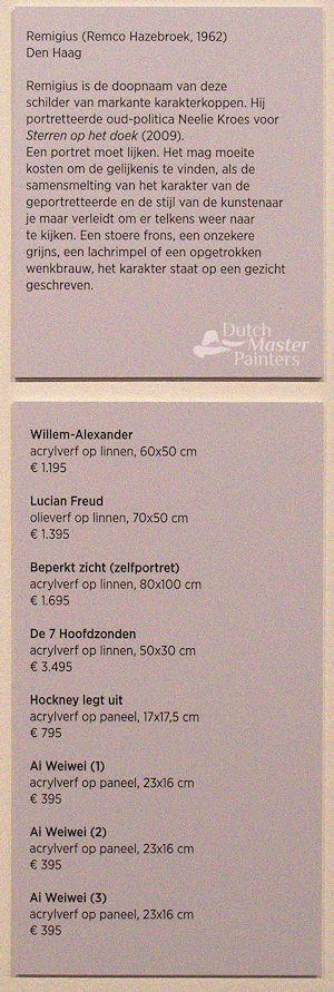 Onderschriften Breda's Museum