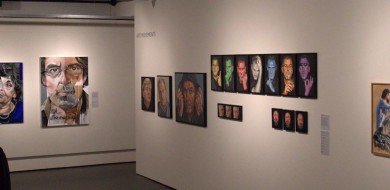 Portretten op zaal in Breda's Museum