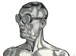 Zelfportret bril 8