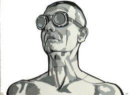 Zelfportret bril 7