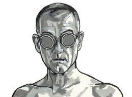 Zelfportret bril 6