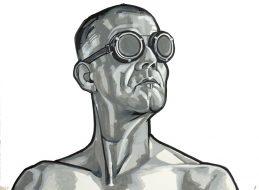 Zelfportret bril 5