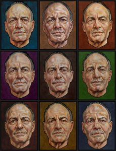 portret frank auerbach