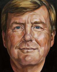 portret koning