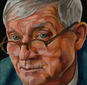 Schilderij David Hockney