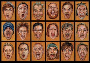 schreeuw portret