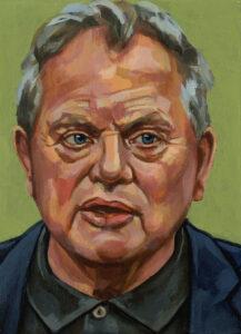 Bas Heijne, portret drieluik links