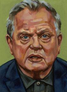 Bas Heijne, portret drieluik midden