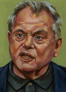 Bas Heijne, portret drieluik rechts