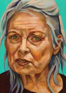 Vivienne Westwood, portret drieluik rechts